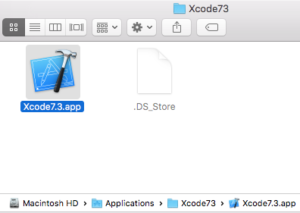 Installing multiple versions of Xcode (6, 7, 8) side-by-side