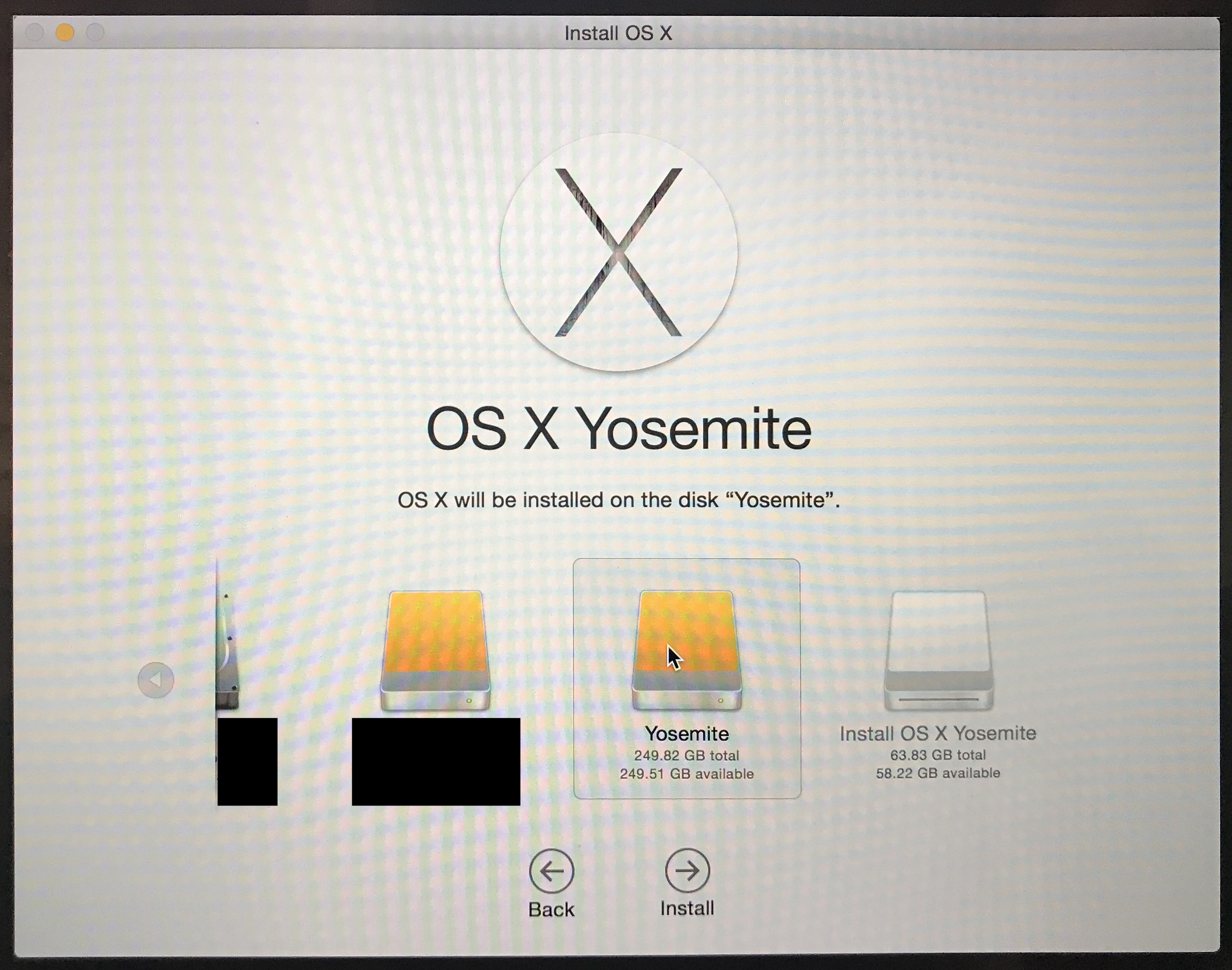 Downloading and installing an old version of OS X (mac OS