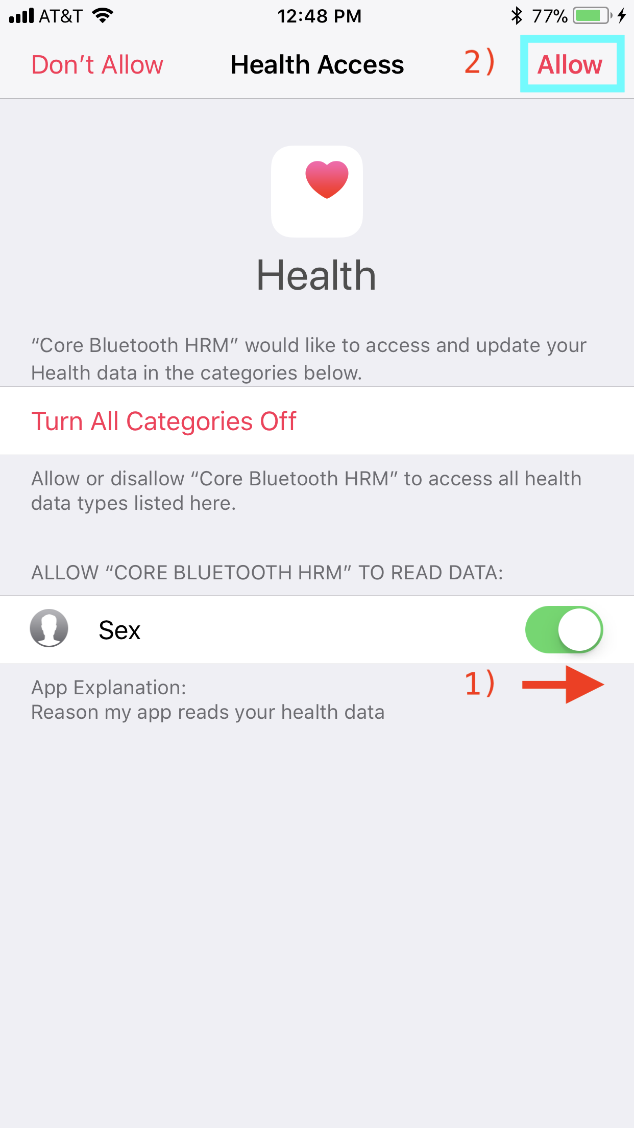 Introduction to iOS HealthKit with Core Bluetooth using Swift 4
