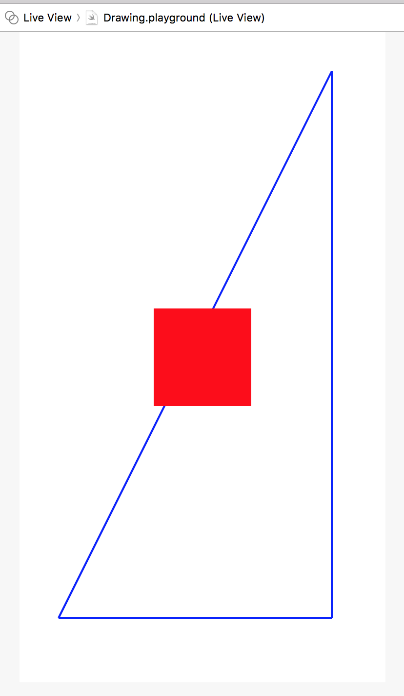 How drawing works in an Xcode playground – iOS Brain